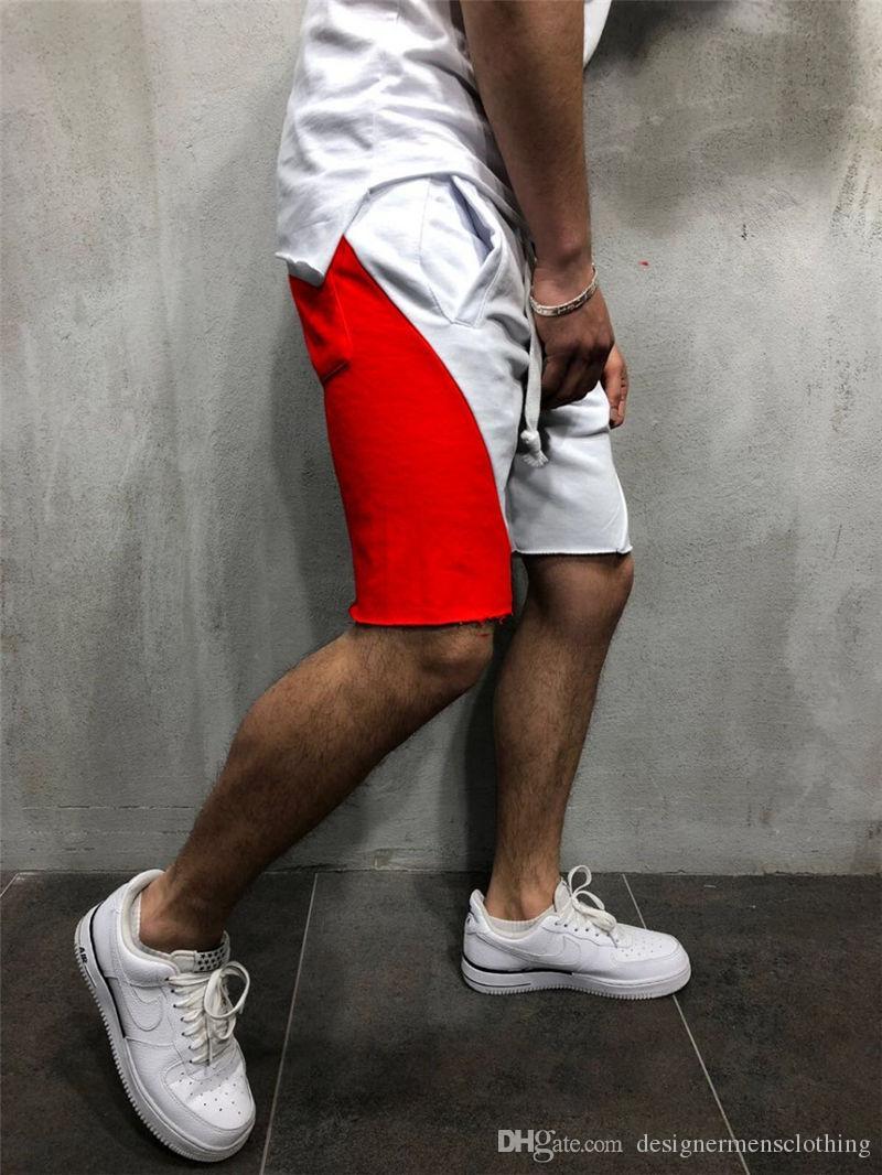 Summer Outdoor Running Mens Casual Shorts Loose Relaxed Drawstring Beach Mens Shorts