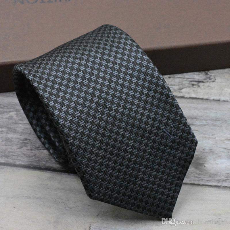 Fashion brand silk tie 8cm narrow edition Europe gift box tie casual business tie narrow edition packaging box
