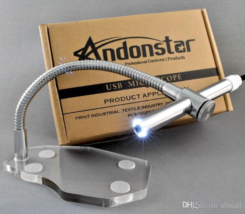 Freeshipping 2 MP Dijital Mikroskop USB Mikroskop Kamera Endoskop Büyüteç Büyüteç Webcam