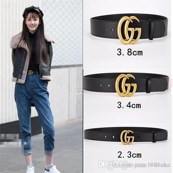 Nuovo 2020 New Brand designer cinghia di lusso della moda di alta qualità della cinghia delle donne della cinghia di cuoio di svago dei jeans della mucca cinghia di trasporto libero 15