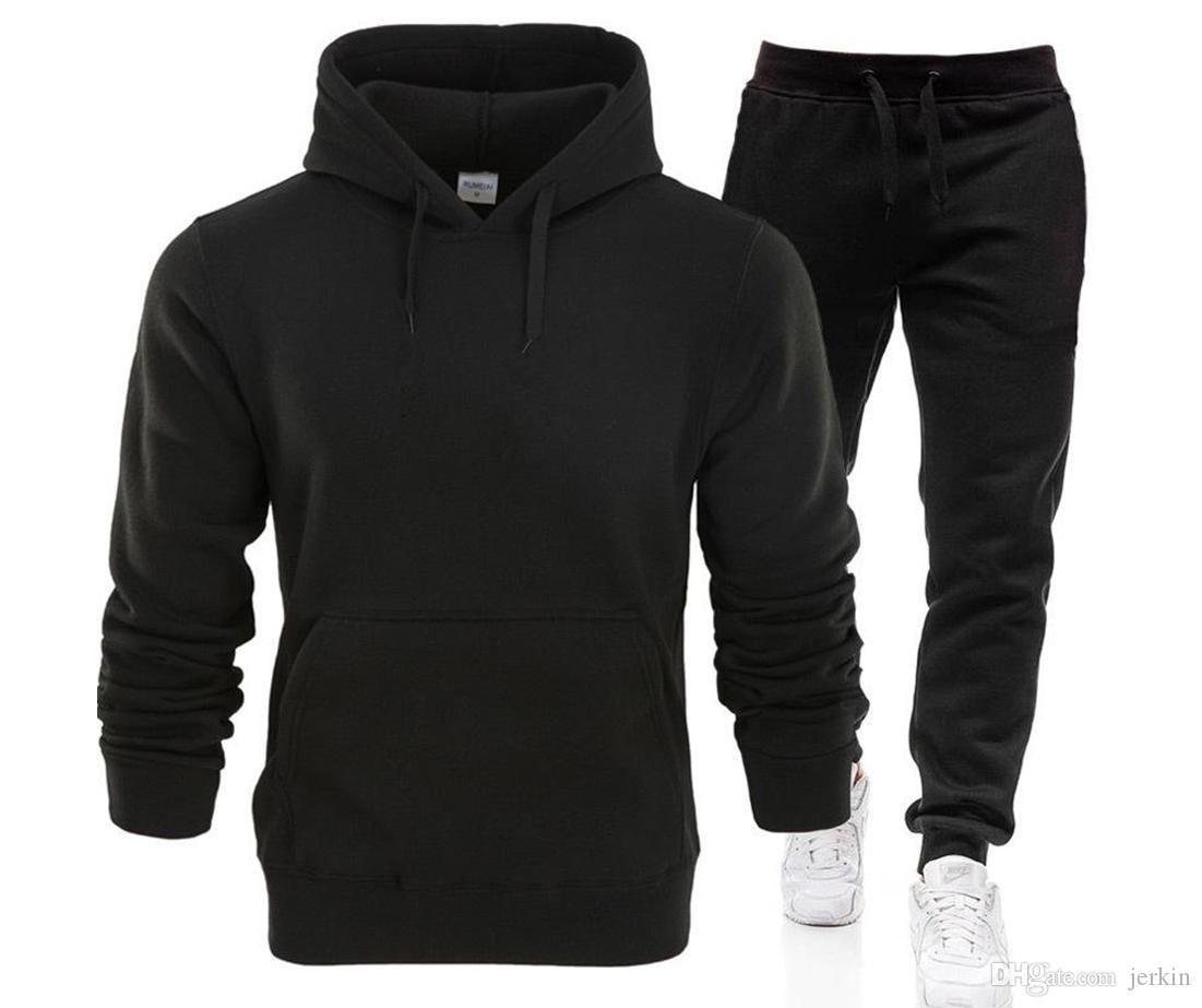 Nouveau 2019 Marque Nouveau Costume Mode Hommes Vêtements de sport Imprimer homme Pulls Pull Hip Hop Hommes Survêtement Sweat-shirts Vêtements