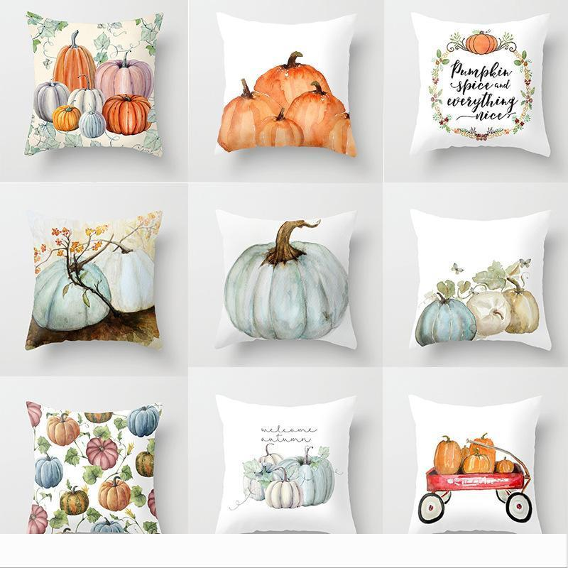 Copricuscino Pumpkin Series Casa Arredamento Decorare Fiore federa popolare di modo Cuscino? Copre con stile Varie 3 7TQ J1