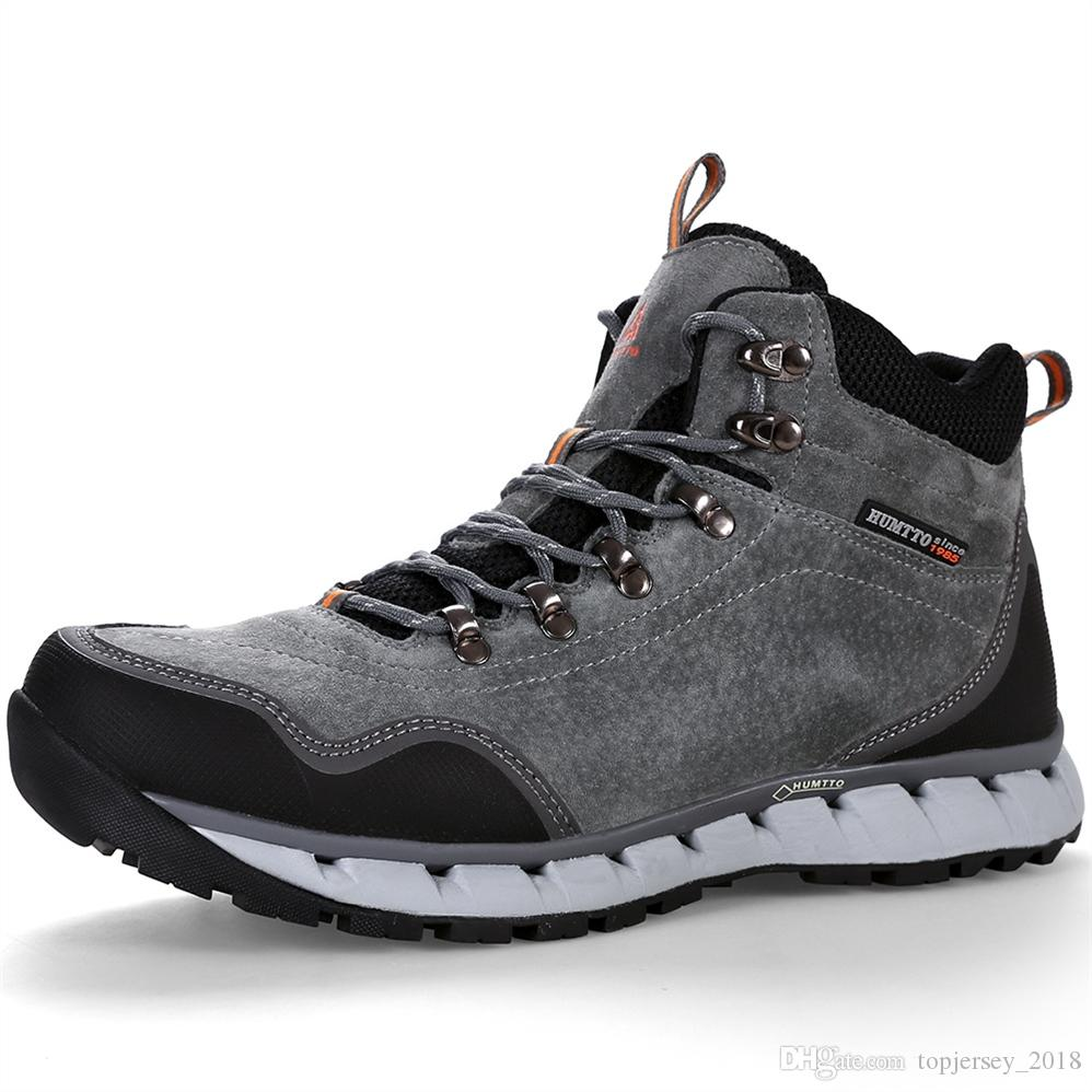 06d2d137e34 2019 HUMTTO Men Hiking Shoes Winter Outdoor Tactical Boots Lace Up High Cut  Sneakers Tourism Mountaineering Climbing Shoes #97329 From Topjersey_2018,  ...