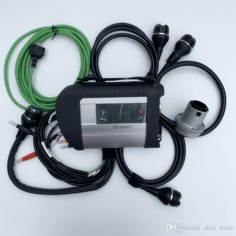 MB STAR C4 MB SD Connect Compact 4 Diagnostic Tool with WIFI Function (Without HDD) for mb car and truck