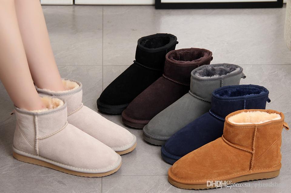 Fabrik heißen Verkauf klassische Entwurf 58541 Mini-Schneeaufladung der Marken-Frauen populäres Australien-echten Leder-Stiefel Fashion Frauen-Schnee-Aufladungen