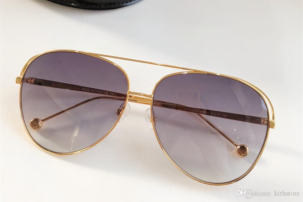 Preto do inclinação dos óculos de sol de prata espelho de metal óculos de sol Marca Designer piloto Óculos Mulheres Homens Shades Top Fashion Eyewear