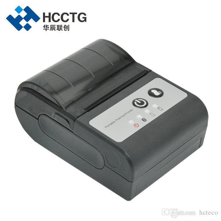 중국 공급 업체 미니 포켓 58mm 휴대용 빌 블루투스 모바일 열 영수증 프린터 휴대 전화 HCC-T2P