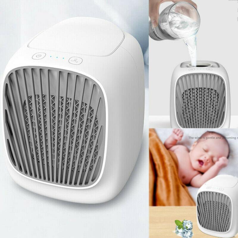 USB mini condizionatore d'aria fredda aria di raffreddamento del dispositivo di raffreddamento del ventilatore umidificatore Office Desktop Air Cooler casa
