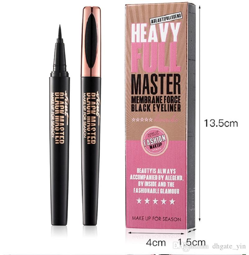 In stock MACFEE Liquid Black Brown 2 Colors Eyeliner Pen Waterproof Long Lasting Quick Dry Easy to Wear Eye Liner Pencil