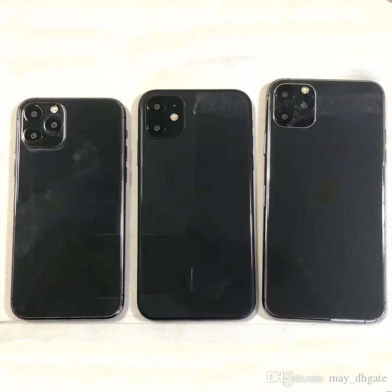manichino nero per Iphone 11 6.5 2019 fittizia Stampo per Iphone 6.1 5.8 2019 Dummy vetro del telefono mobile modello di macchina di visualizzazione non-lavoro