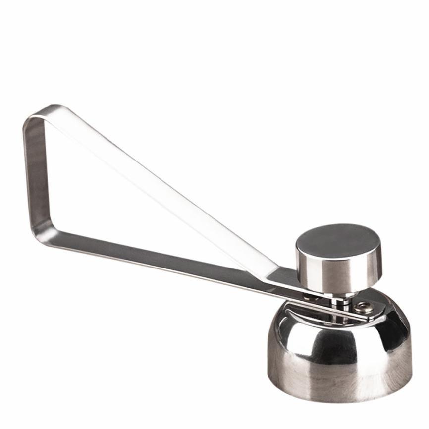 Ovo de aço inoxidável ovo abridor de faca de ovo cozido abertura ferramenta tesoura cortador criativo sui0196