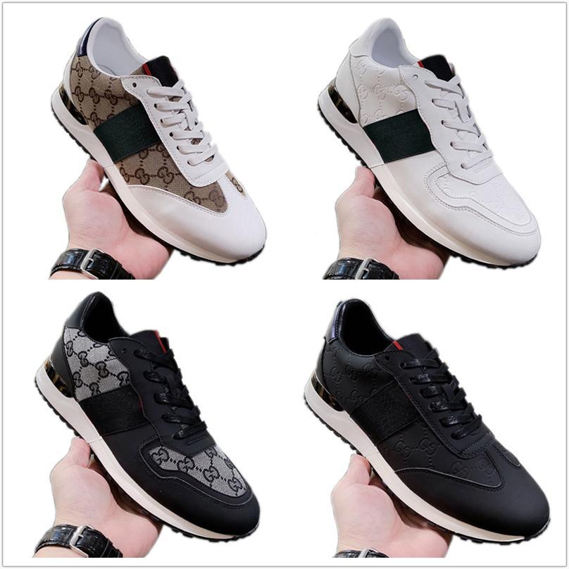 Gucci Chaussures Hot Memoire B22 [Original Box] Mane En 2006 Fashion Stud Camouflage Sneakers Hommes Flats Rockrunner avec boîte