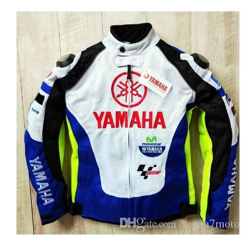 NEW 2019 Summer Motocross Racing For Yamaha M1 Blue and White Racing Jacket Autombile Race Clothing Motorcycle Clothes