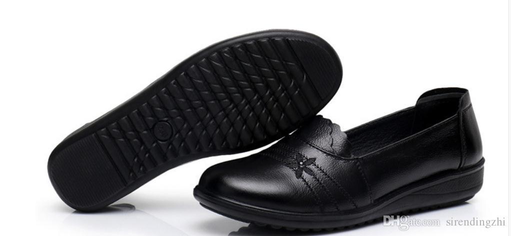 Zapatos de las mujeres antideslizantes antideslizantes de las mujeres de la parte inferior plana del nuevo estilo del envío 2018