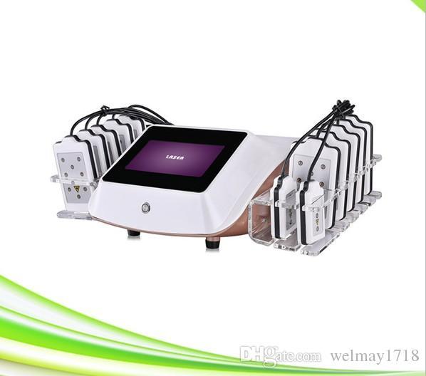 spa salão clínica zerona lipo laser diodo queimar gordura 650nm diodo laser preço