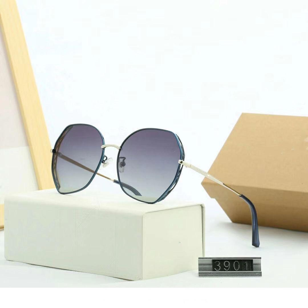 Womens Sunglasses Designer Sunglasses Woman Brand Goggle Glasses UV400 D 3901 5 Color Options Highly Quality with Box