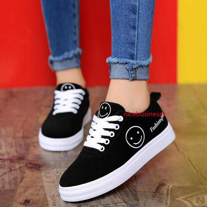 New Women Casual Sneaker Branco Preto Verde Dividir multi Moda Womens Outdoor Cloth Shoes Tamanho 36-39