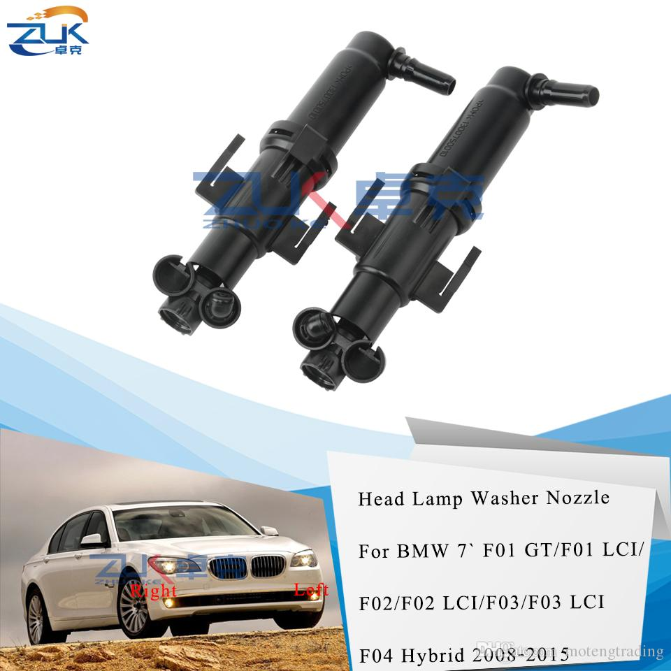 ZUK Headlamp Headlight Washer Spray Nozzle Actuator For BMW 7 Series 730 740 750 760 For F01 F02 LCI For ALPINA B7 B7X B7LX