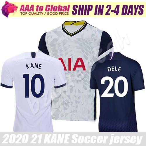 Топ Kane jersey 2021 Thail качественные футбольные рубашки BERGWIJN DELE SON NDOMBELE футбол Джерси Майо де фут