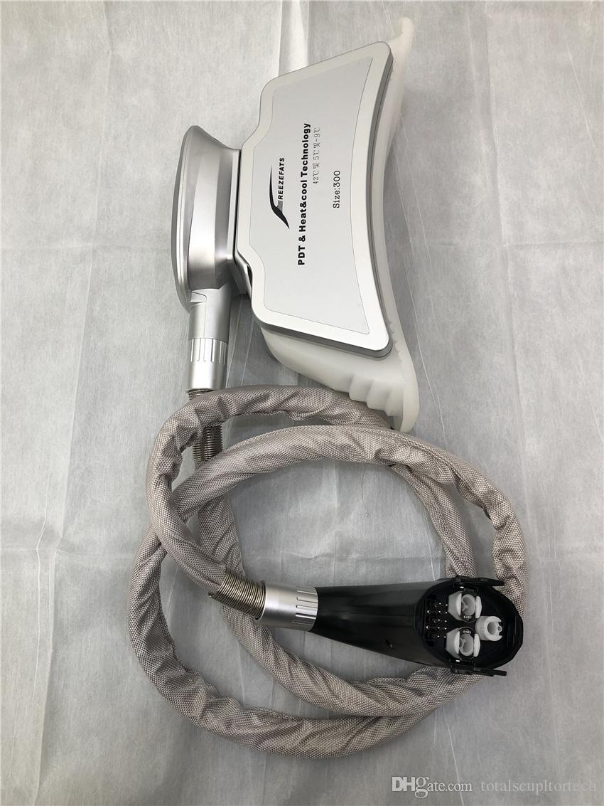Satılık yağ azaltma için el aletleri gri renk 4 saplı yağ donma ve cryolipolysis zayıflama makinesi