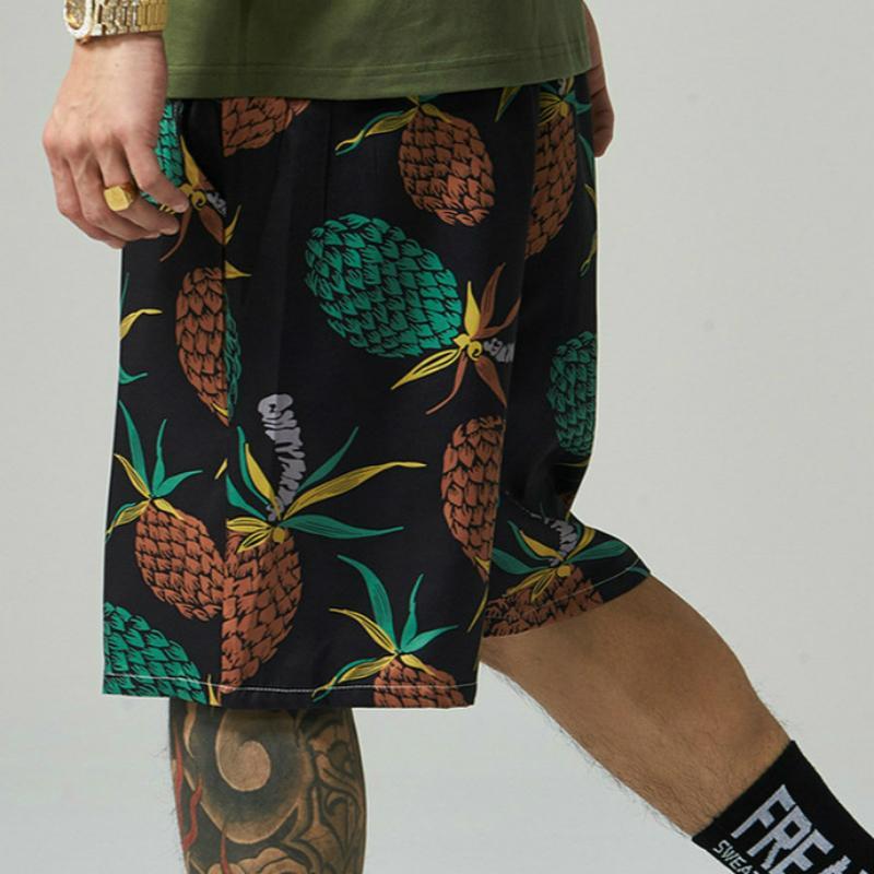 2020 Frühling und Sommer der neuen Sommer-Männer Printed Männer beiläufige Kurzschluss-Strand-Hosen-beiläufige Shorts