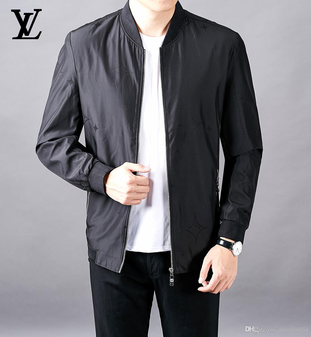 2019 осень и зима мужская роскошная пуховик вышивка бейсбол воротник высокое качество толстые мужские дизайнерские куртки Большой размер M-4XL