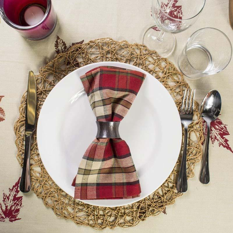 Paper Rope Mesh Round Table Placemats Home Kitchen Xmas Kids DIY Decoration Pads 38*38cm