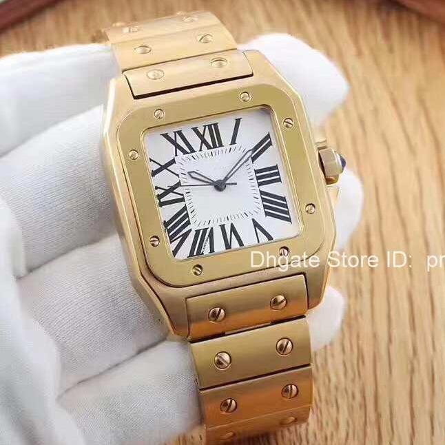Kuvars-Pil Lüks Paslanmaz Çelik Gül Altın ELMAS Erkek Tasarımcı Erkekler İzle Bayan Saatler Saatı