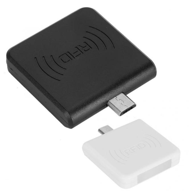 안드로이드 휴대 전화 RFID 리더 RFID를 125KHz로 또는 13.56 카드 리더 미니 사이즈 마이크로 USB RFID를 카드 리더