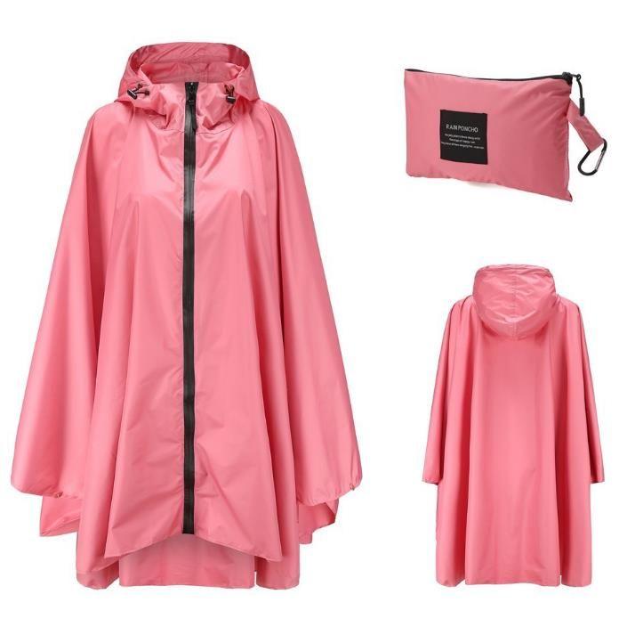 Erwachsene Taschen Match Raincoats Für Regen Aufbewahrungstasche Mit Kapuze Gang Poncho Printed Plus Großhandel Wasserdichte Mantel Jacken ARcjS5q3L4