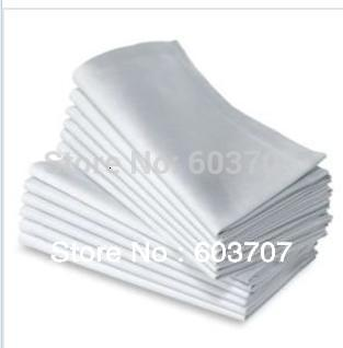 100% Polyester Fabric Colorful Table Napkin 40cm*40cm Square 100PCS A LOT With Free Shipping For Hotel Use T191105