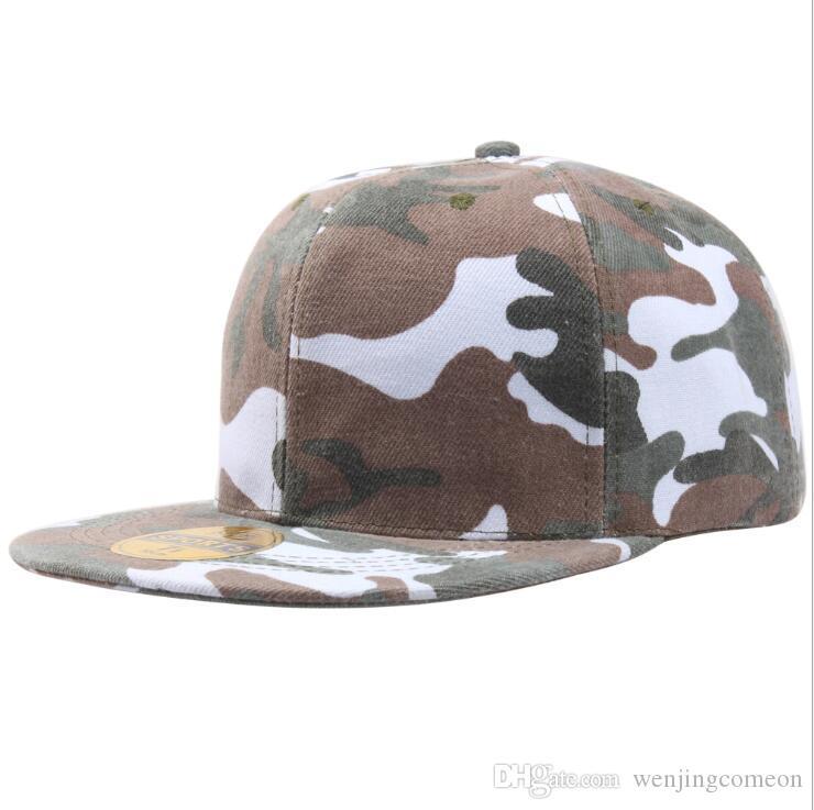 Unisex Snapback Camouflage Baseball Caps Men Women Fashion Hats Spring Summer Autumn Cap Bone outdoor sport hat 3 Colors