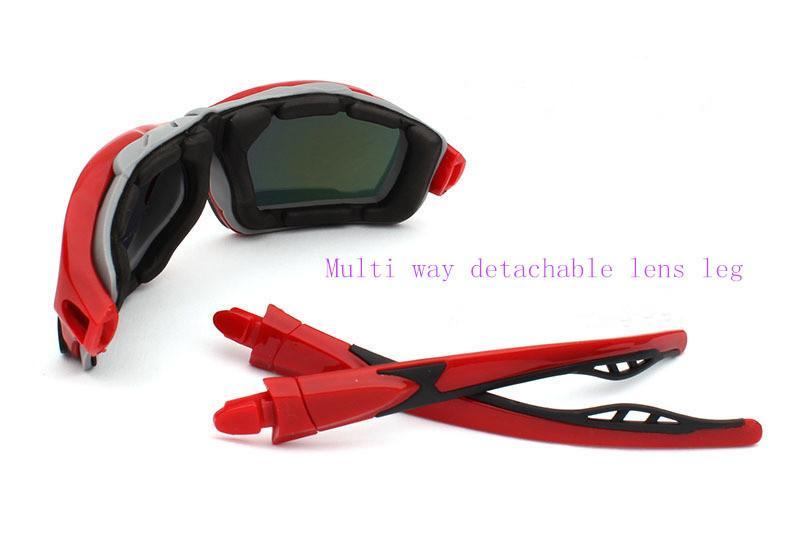 Оригинальные высокого класса мужские очки спорта на открытом воздухе очки солнцезащитные очки солнцезащитные очки езда очки 1208