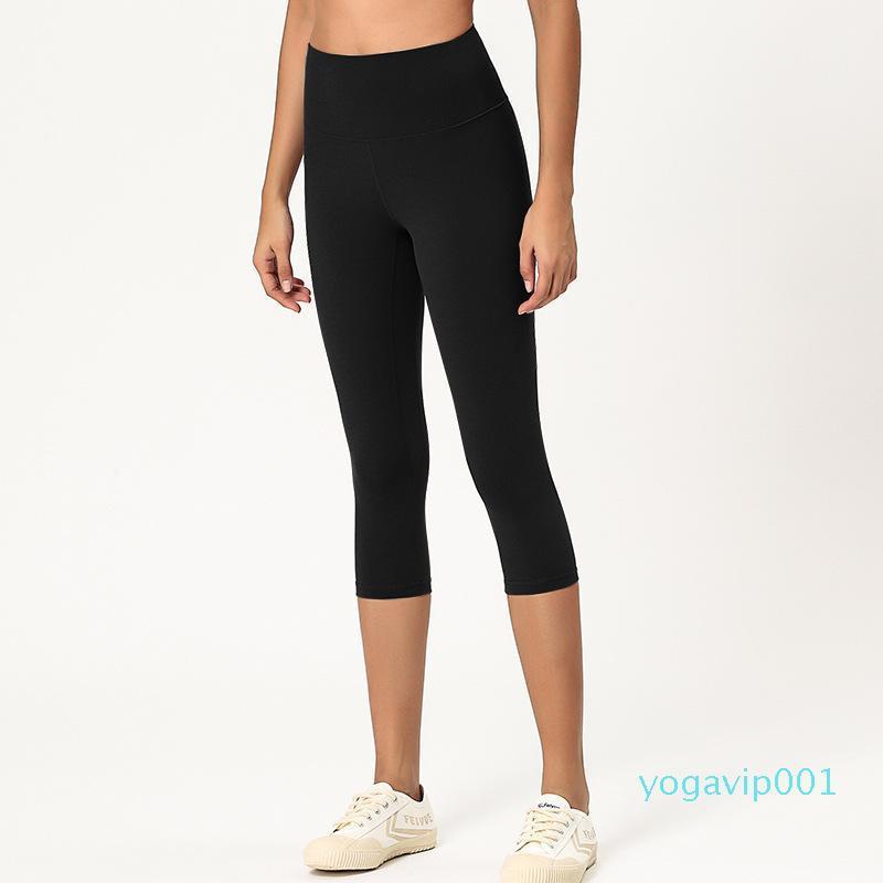 Spor Pantolon Koşu Capris İçin Kadın Spor Elastik Spor Tozluklar Slim legging 1902 Yüksek Bel Atheltics yoga