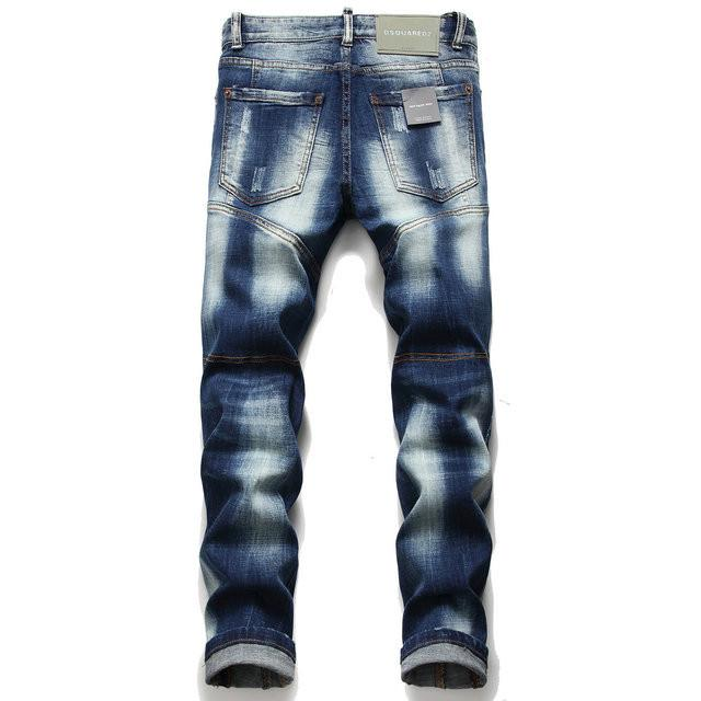 2020 2020 Mens Fashion Mens Wear And Slim Tight Stretch Denim Fashion Bicycle Style Jeans Trousers Mens Lacking Holes Jeans 28 40 Size Pp4 From Menschaofu 66 73 Dhgate Com