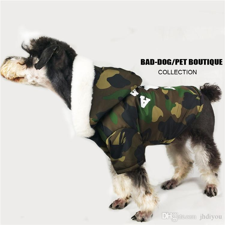 High Quality Pet Cat Apparel Hoodie Fashion Cute Teddy Dog Schnauzer Dog Clothing Fashion Pet Clothes With Cap Pet Supplie