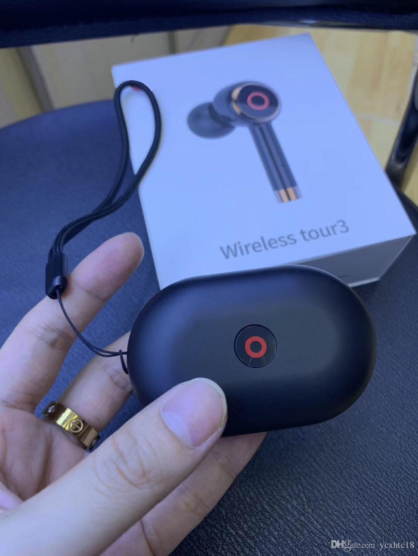 Top qualidade Marca wireless Earbuds Tour3 super bass Bluetooth 5.0 auscultadores turnê 3 fones de ouvido estéreo Bluetooth jogo esportes fones de ouvido