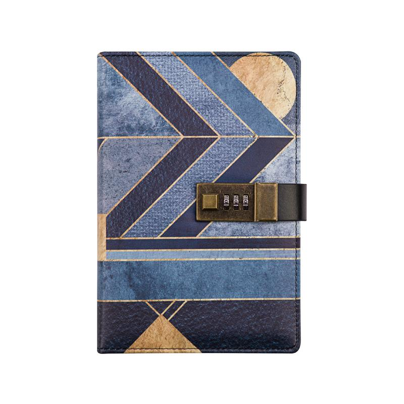 Retrol 100 Pages Vintage Diary Travel Journal Retro A5 Notebook With Lock Code
