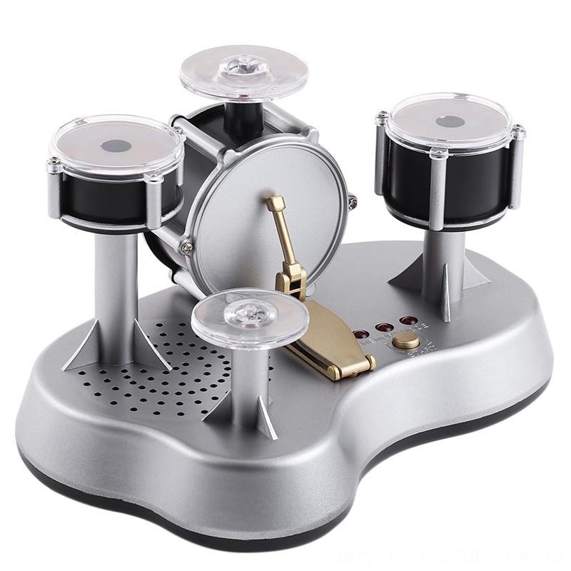Conjunto de escritorio electrónica Mini dedo prensa de tambor inspirar la creatividad de audición para el escritorio del tambor musical sets de percusión niños de juguete