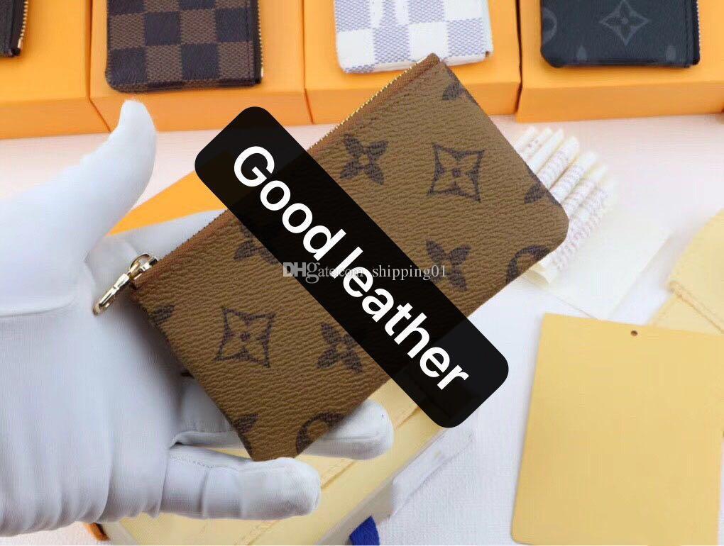 2020 الساخن بيع حقيبة يد مصمم محفظة عالية الجودة جلدية فاخرة للرجال محفظة قصيرة رجل إمرأة محفظة براثن الفصل حقائب