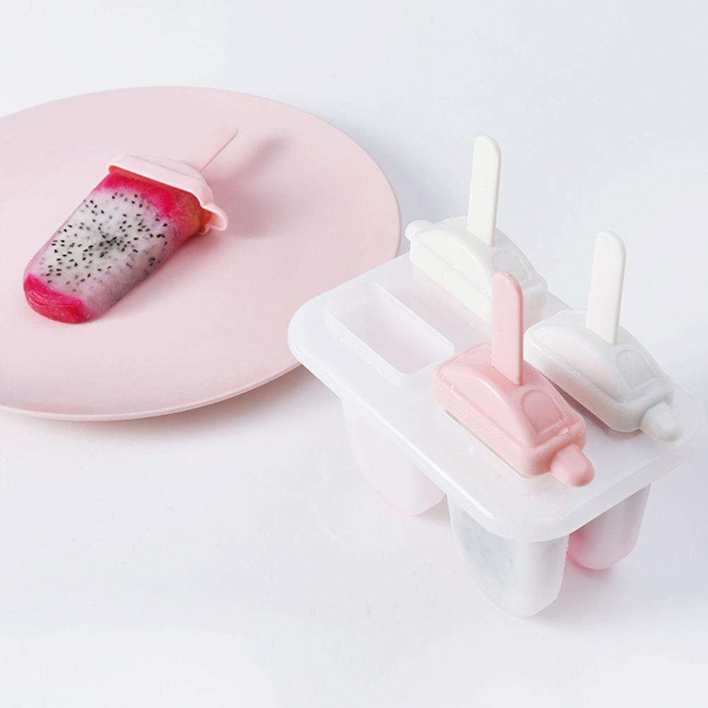 Netter Mini-Kühlschrank Gefrierschrank Startseite DIY Kegel Haushalt Eiscreme-Form-Sticks Küche-Werkzeug Dessert Koch Grinder Popsicles Herstellung