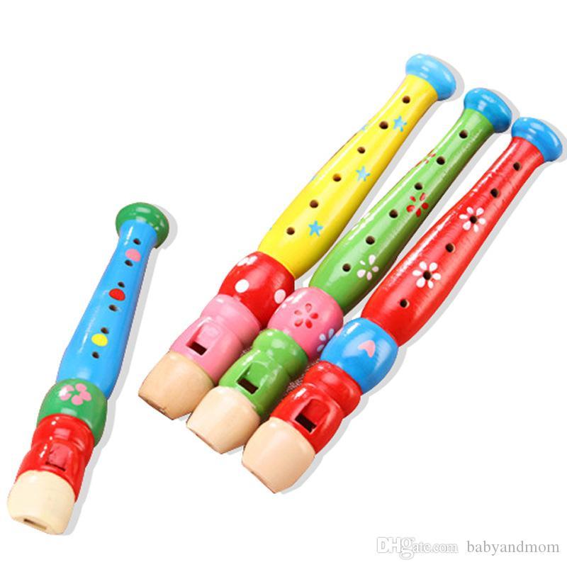 Kinder Lernspielzeug Baby Mädchen Früherziehung Klarinette geriffelt Musikinstrument Gehirn Spiel Geschenk für Baby