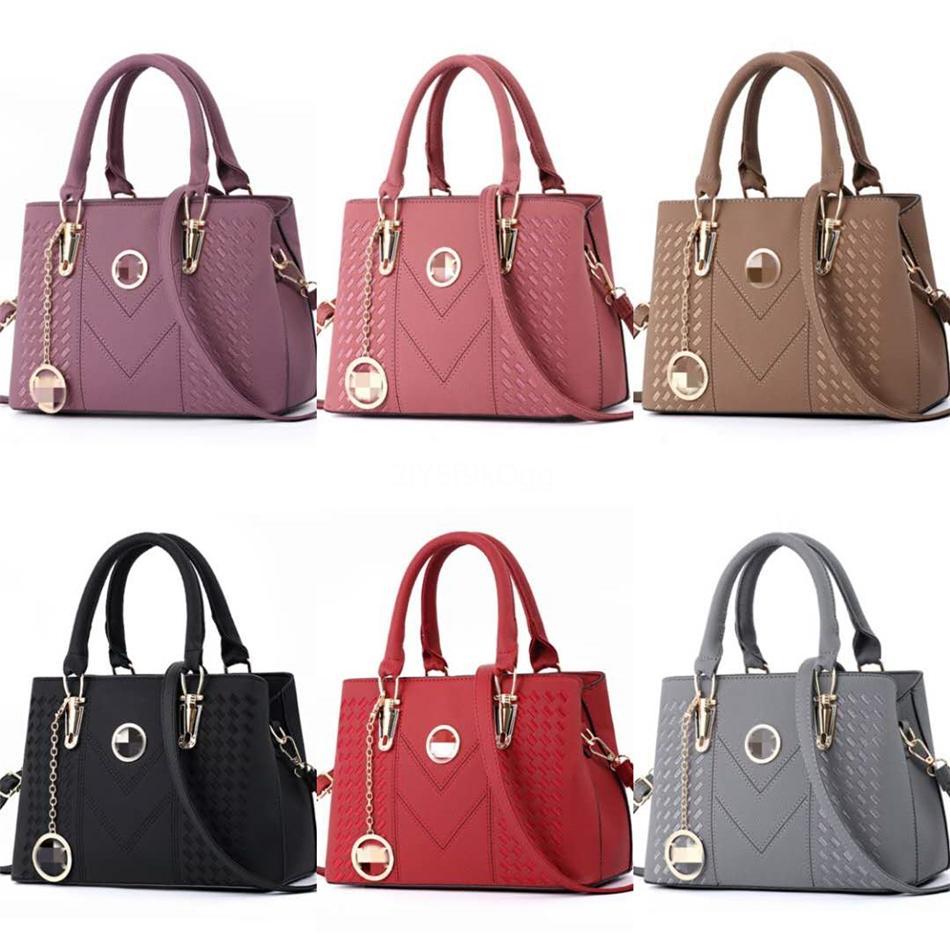 Herald moda em couro sacos para as mulheres de luxo Bolsas New Designer Big sacola Cadeia feminina Shoulder Bag Set Bolsa Feminina L02 # 236