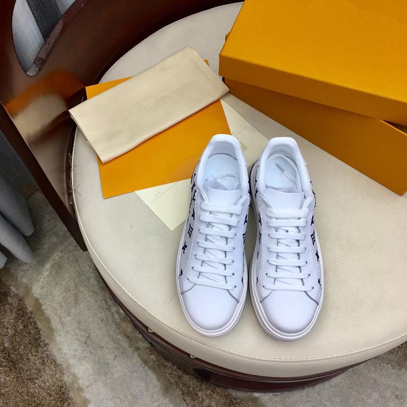 Louis Vuitton LV shoes Bred Luxe Rétro Femmes Sneaker Chaussures Casual Mesh pour Formateurs Old Dad Triple S Parti chaussures à la mode