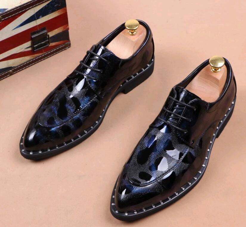 2018 Nouveau tissage Hommes Oxfords Hommes Chaussures Habillées Chaussures, orteil pointu hommes Rouge chaussures de mariage d'affaires a souligné orteil parti Chaussures JP175