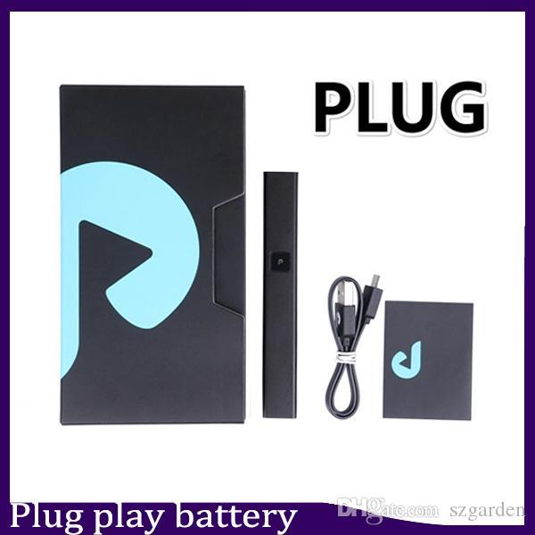 Vendita calda Esotici DNA Plug Gioca batteria 500mAh kit batteria pod Lipo sigaretta Vape Pen Batteria per baccelli vuoti
