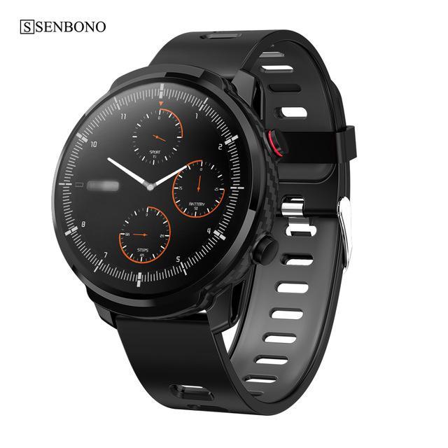Cheap intelligente Orologi SENBONO S10, più intelligente di tocco pieno della vigilanza degli uomini delle donne di sport Orologio cardiofrequenzimetro Smartwatch per IOS