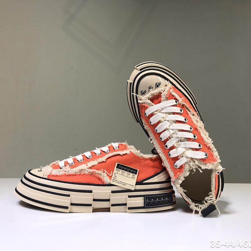 XVessel G.O.P. Chaussures Hommes toile Lows femmes TOP Mode Qualité Designer navire Tripes S Pièce par pièce Speed Chaussures Casual Z70