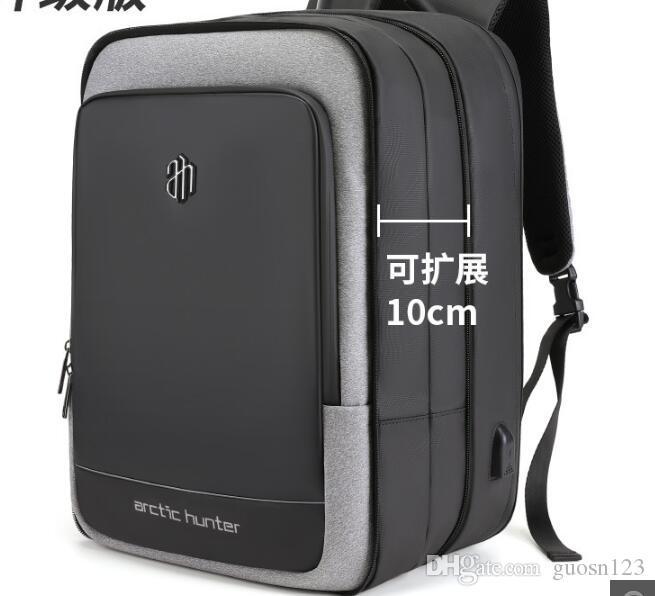 2019 cross-border novos negócios bolsa de computador bolsa de ombro dos homens portátil dual-use saco Oxford pano mochila impermeável masculino