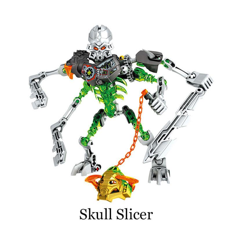 Biochemical Warrior Bionicle Mask Of Light Tahu Master Of Fire Bulding Block Toy